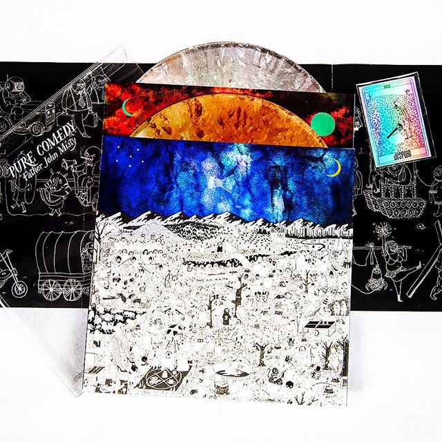 THE DELUXE EDITION OF #FJM'S #PURECOMEDY PRESSED ON ALUMINUM & COPPER #VINYL ARE STILL AVAILABLE AT NORTH END. GET IT!!!