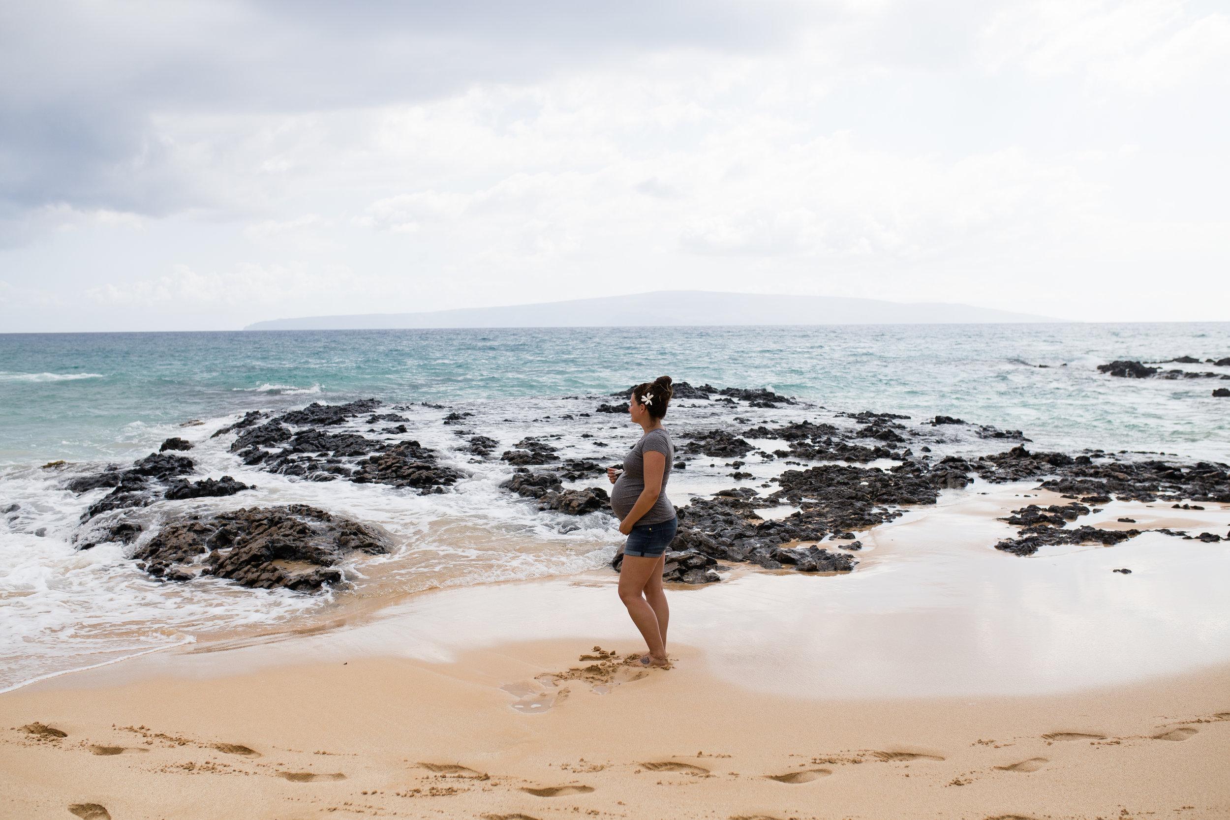 """A cute little beach referred to as """"Wedding Beach,"""" Kihei, HI"""