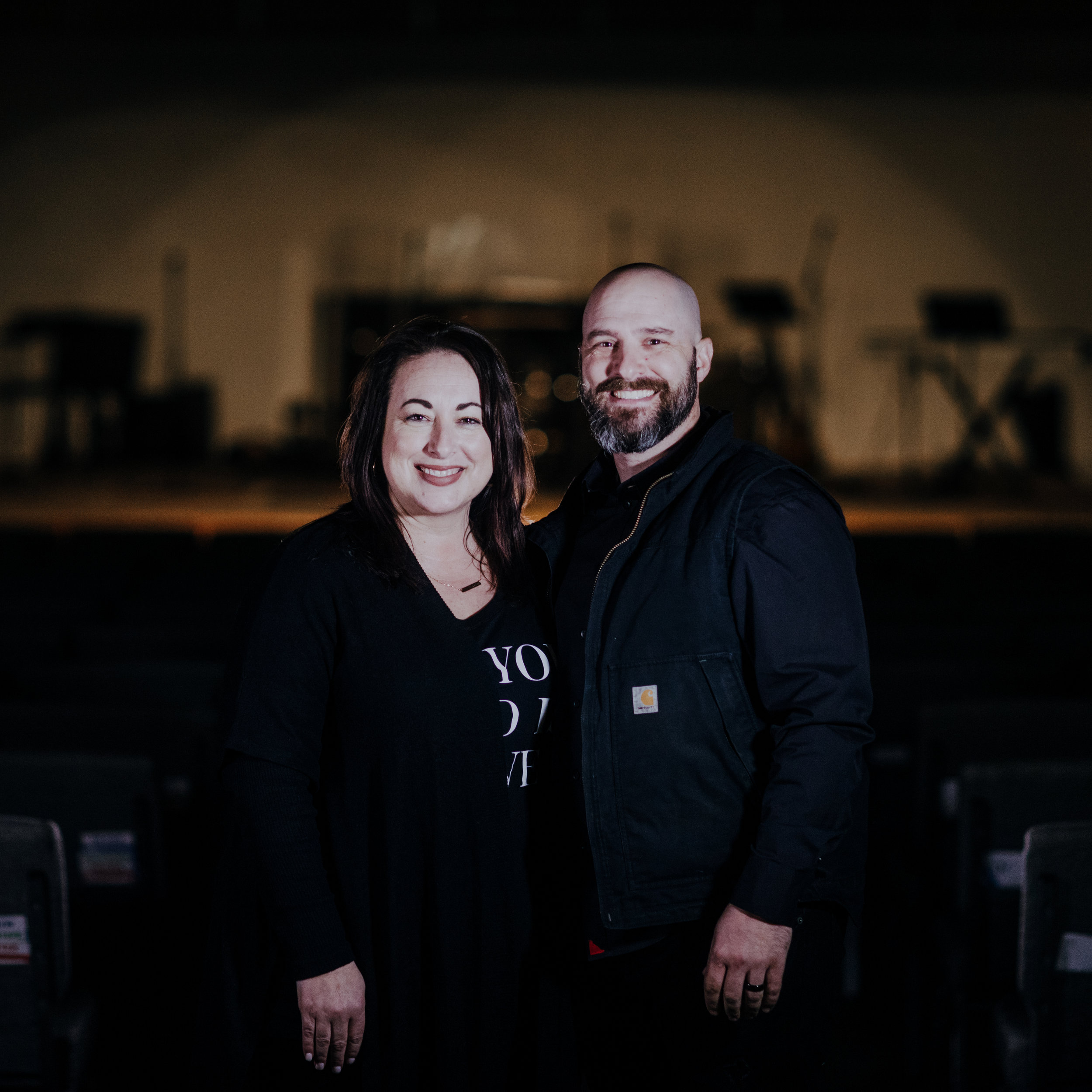 Adam and Katie Thielman - Executive Pastors