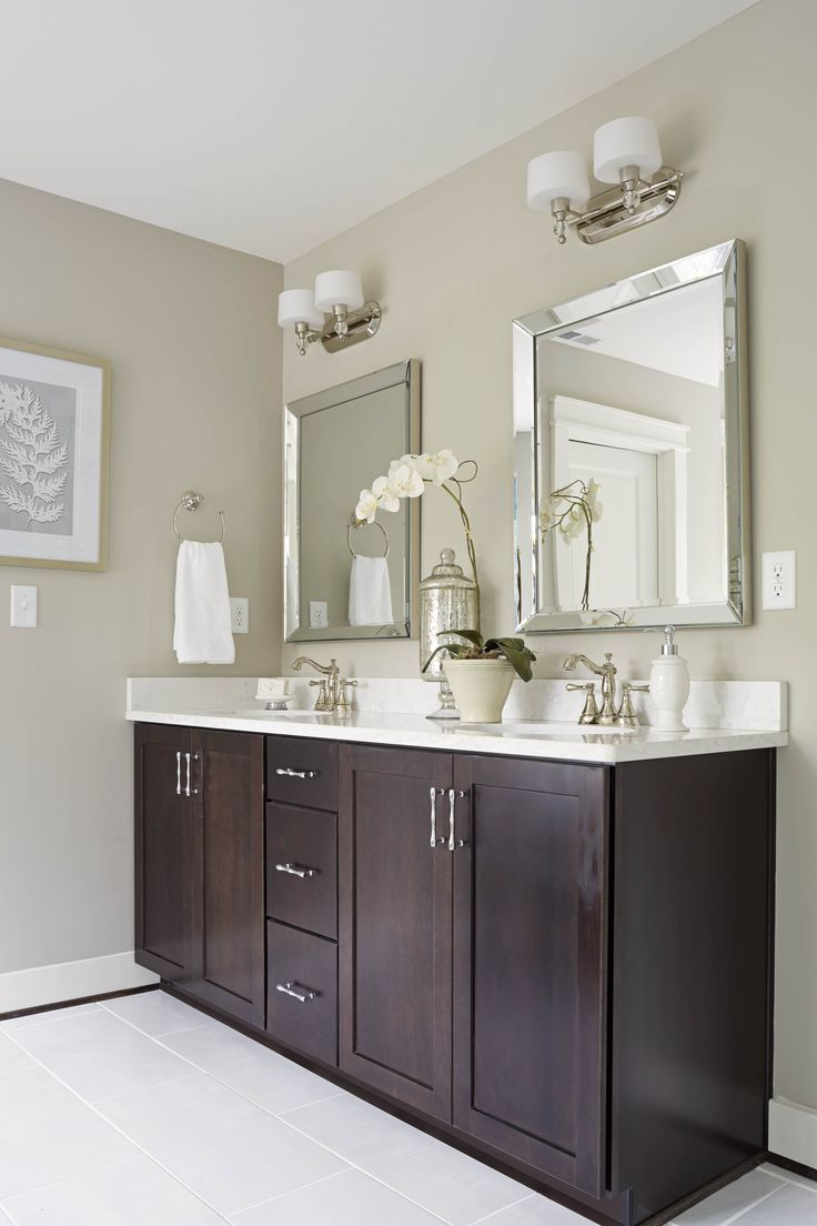 BATHROOMS - Clean & de-cluttered = big payoff