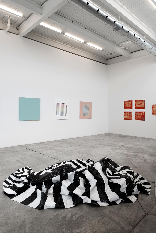 Derek Coulombe, Nestor Krüger, Kristie MacDonald, Janine Miedzik, Haley Uyeda    Installation view Diaz Contemporary  2016