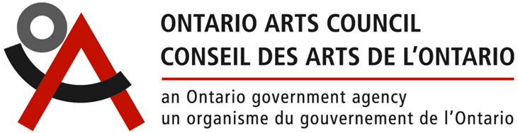 I would like to gratefully acknowledge the support of the Ontario Arts Council