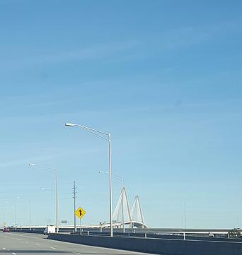 Infamous cooper River Bridge