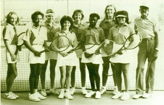 Yearbook Photo 1984 - Orangeburg-Wilkinson Tennis Team