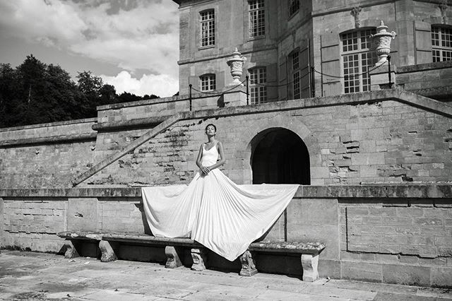 Collaboration with @odylynetheceremony, shot @chateau_de_villette
