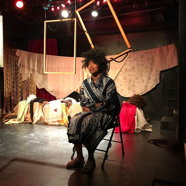 Three more to go! This is THE character LUCY. She plays the daughter. She is just trying to figure out what freedom is. #getfree #blackactors #blacklivesmatter #blackwoman #blackstorytelling #blacktheater #characterwork #thebones #thebeginning #acting #theater #blacktheater #soloshow #blacklivesmatter