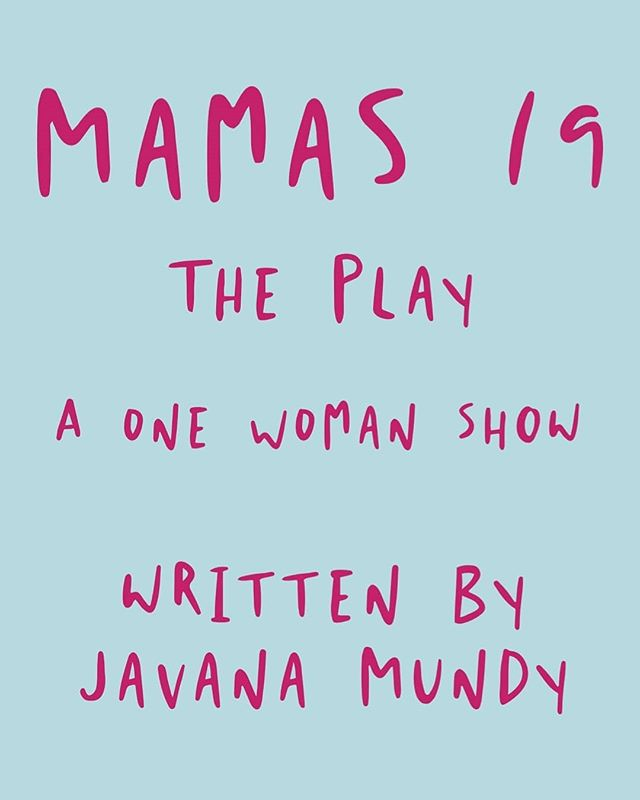 This Wednesday is OPENING NIGHT of #MAMA's19ThePlay !!!! Tickets at link in Bio! Be sure to match your showtime as there are other plays in the festival each night Wed July 10th 7p Fri July 12th 7p Sat July 13th 6p + Talkback with Javana Mundy herself! Sun July 14th 9p