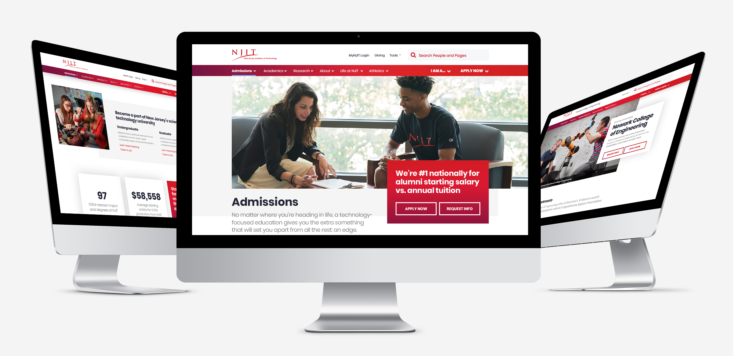New Jersey Institute of Technology Website Redesign