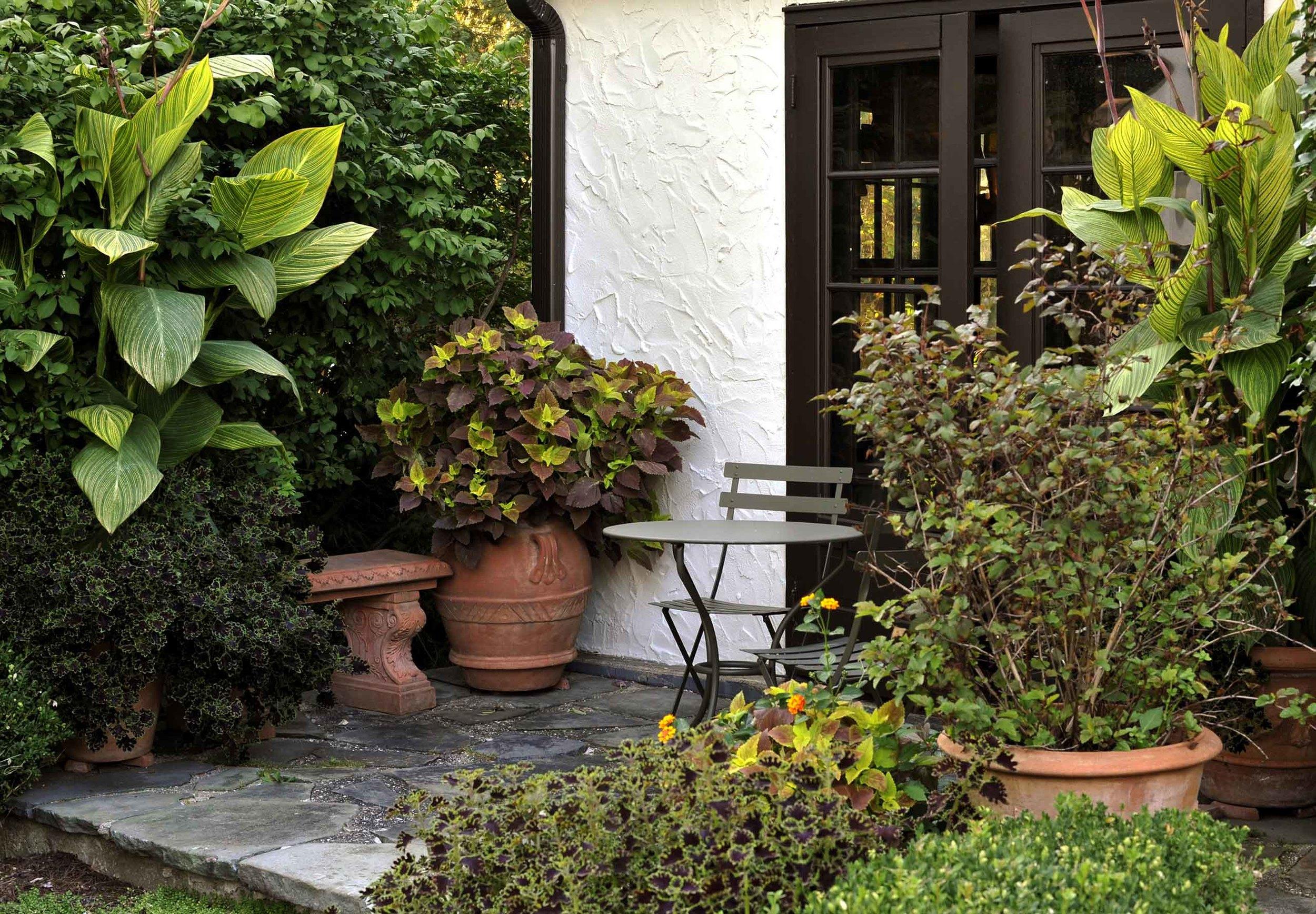 Garden design in Short Hills, New Jersey.