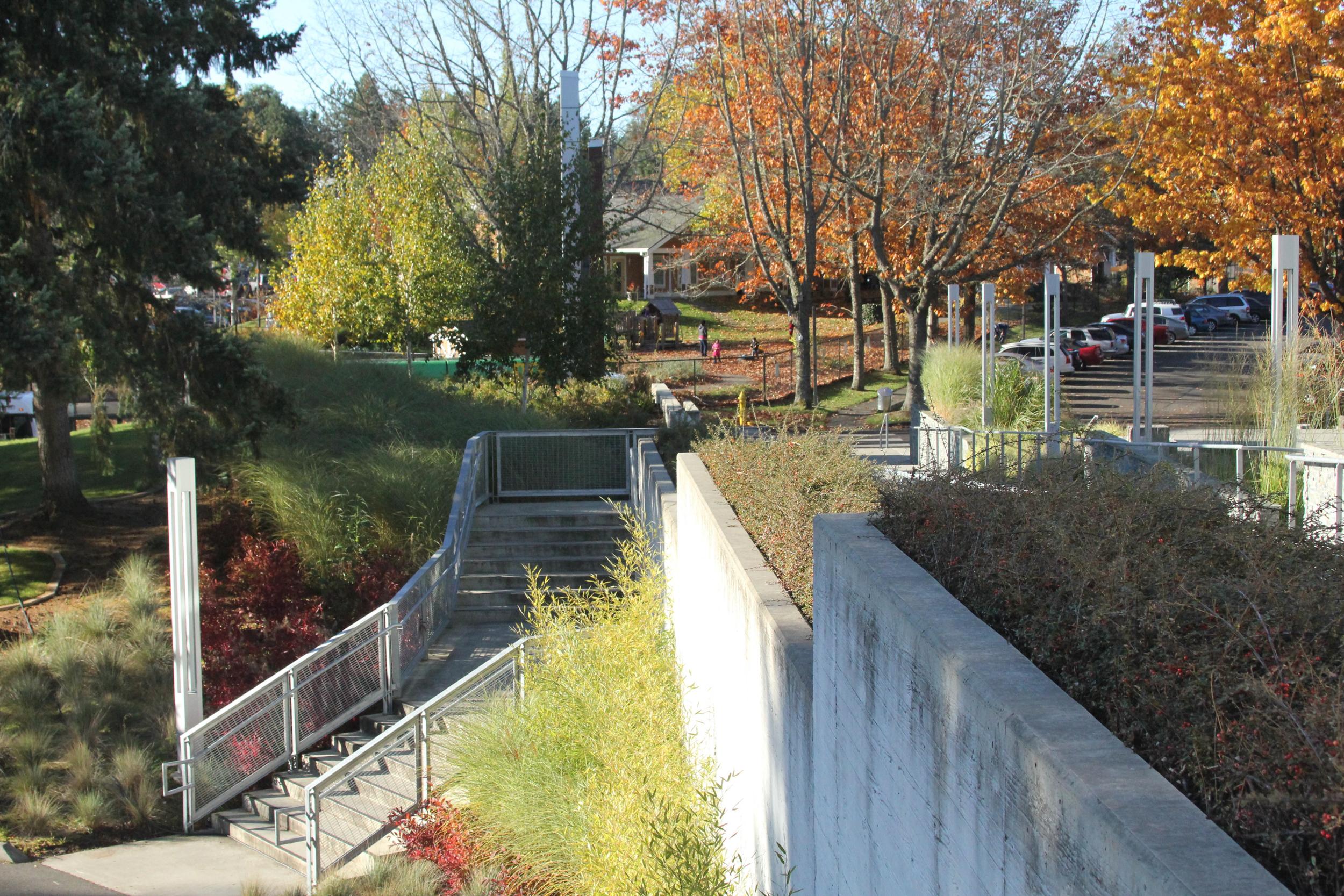 landscapeto strengthen identity of Pierce College