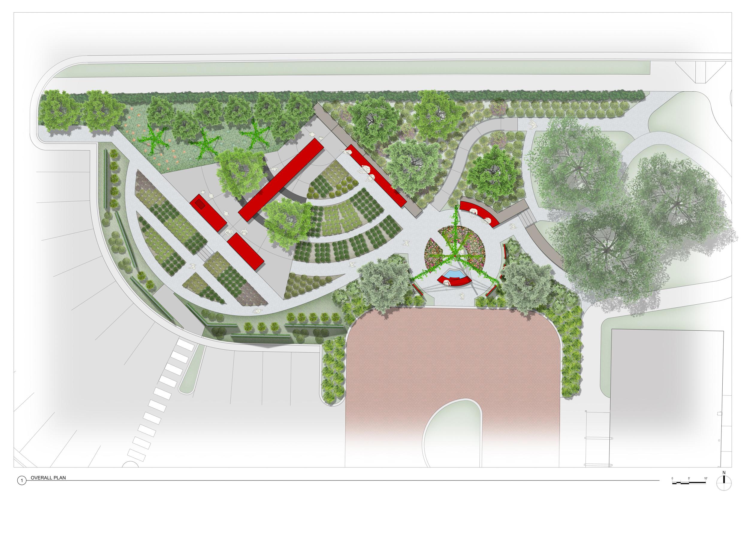 JC Raulston Edible Garden Plan