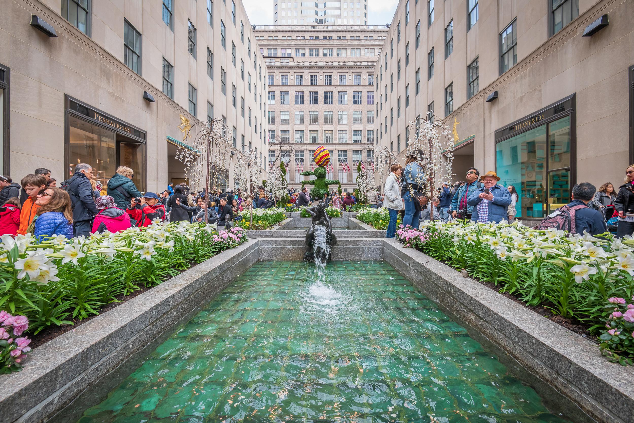 Rockefeller Center Channel Gardens