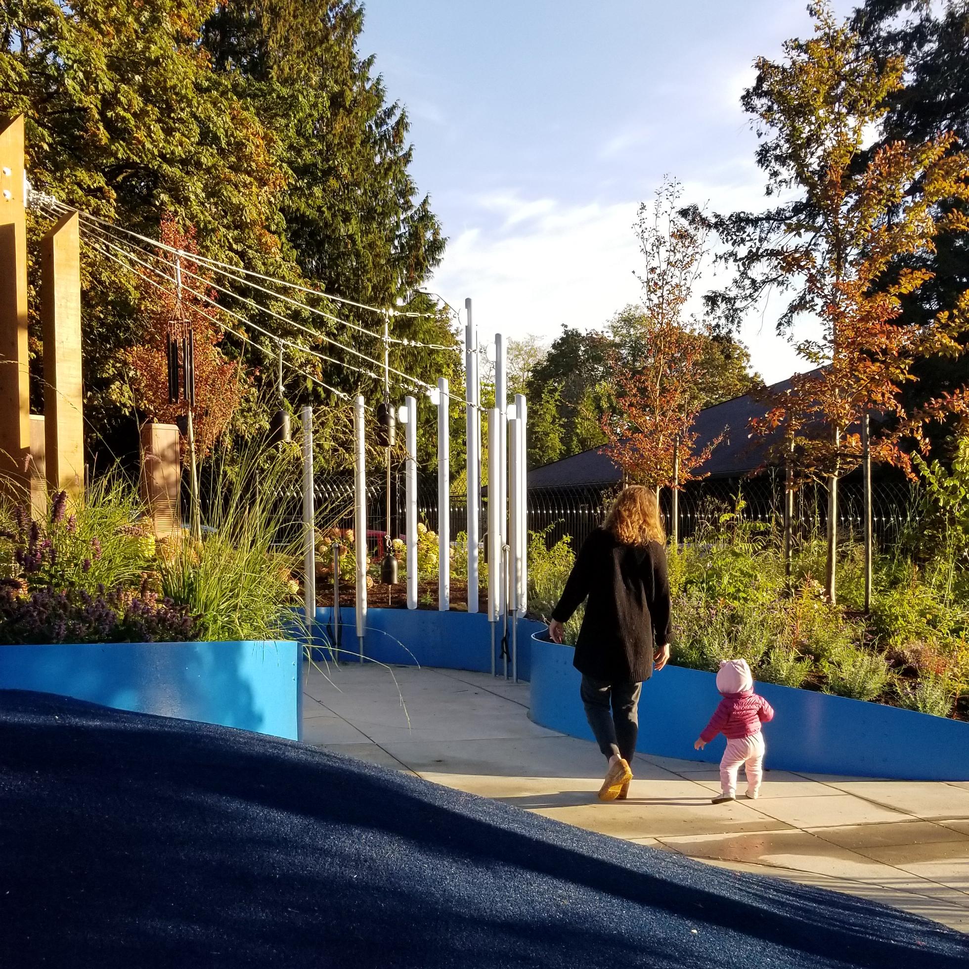 Woodland Park Sensory Garden