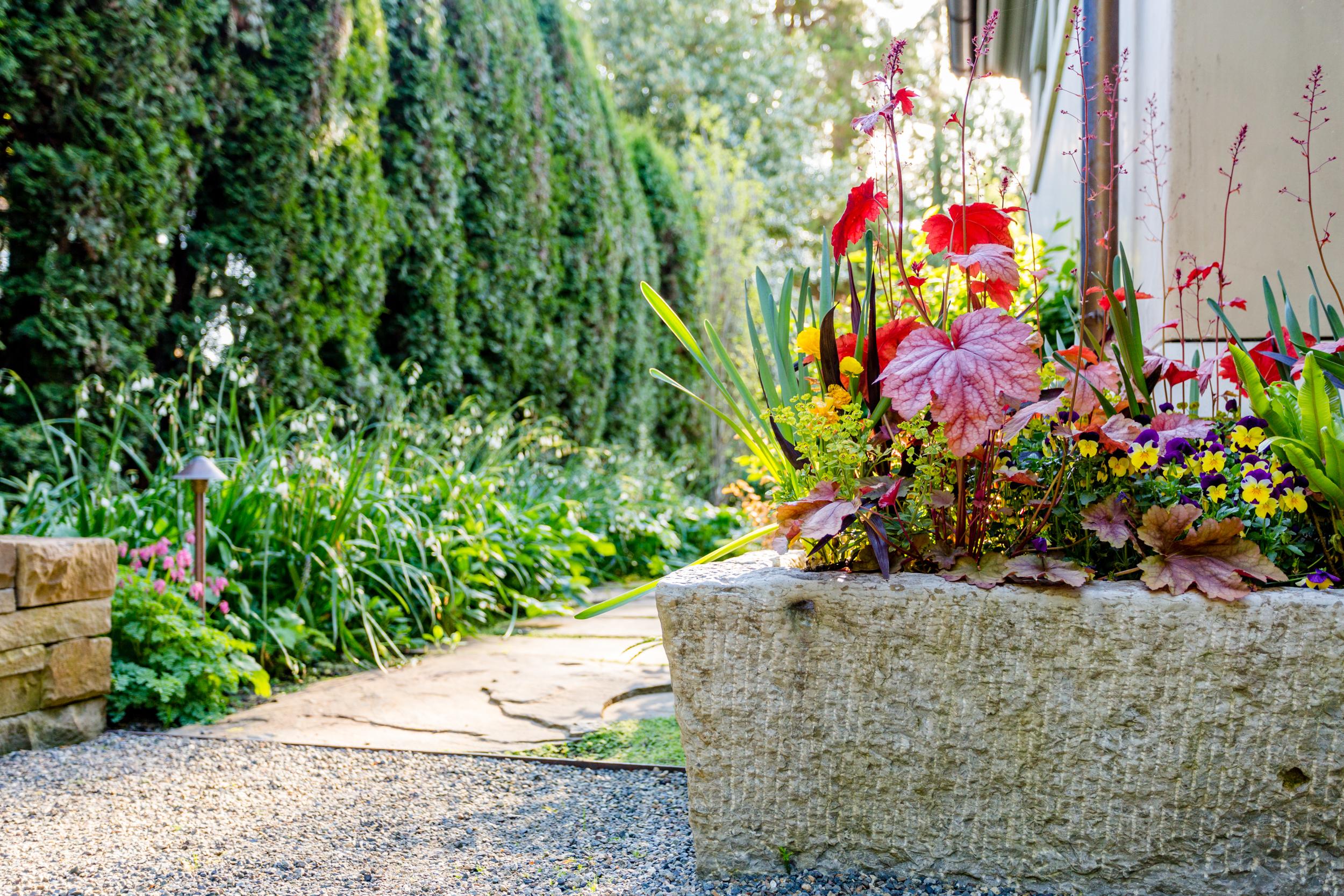 Antique trough  Photo by Miranda Estes Photography