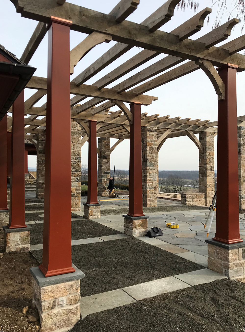 01 Nearly completed pergola and arbor.jpg