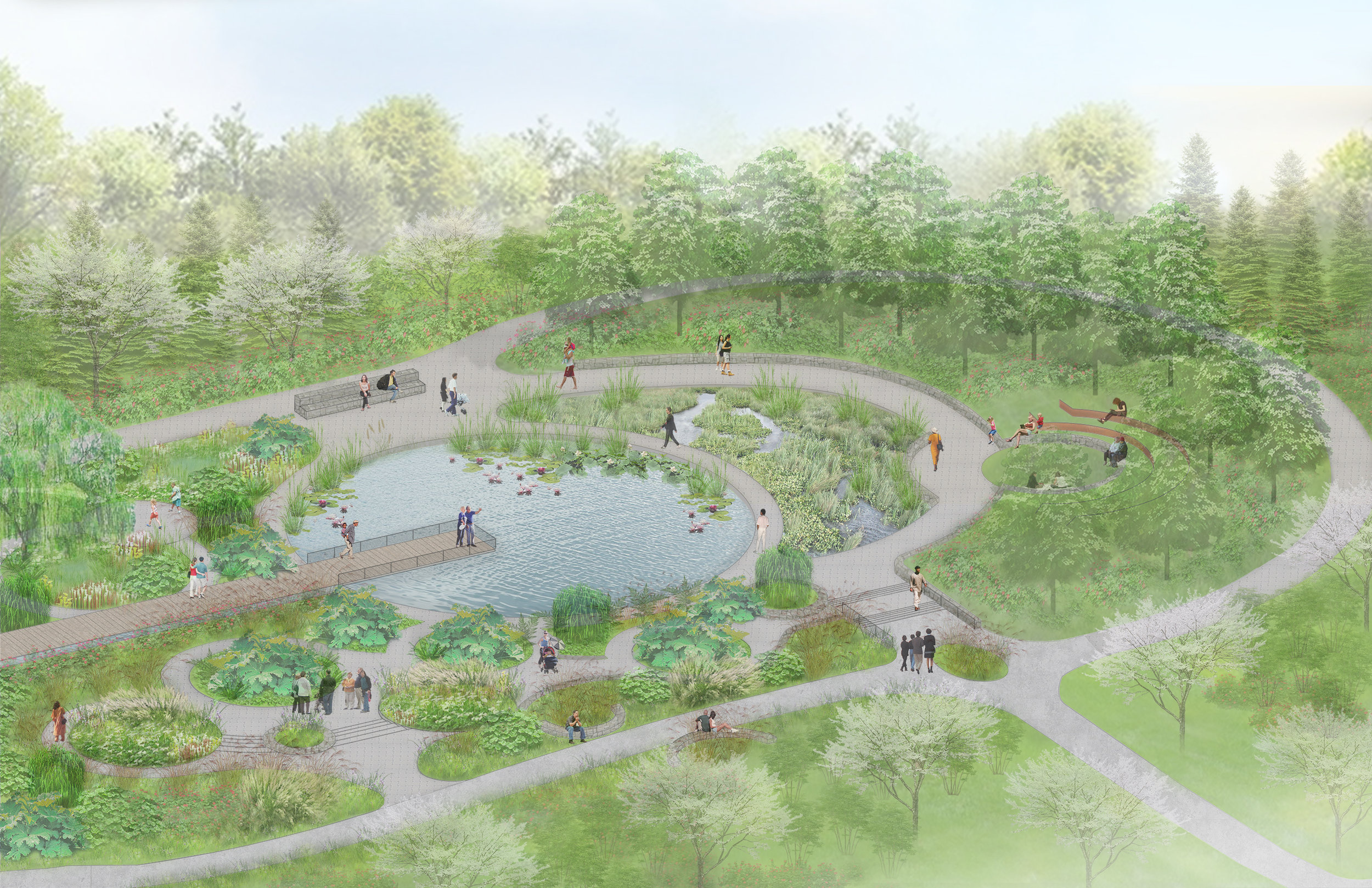 Gulliver's Garden - This garden is intended to make visitors feel like they are in an enchanted land that will captivate both children and adults alike.