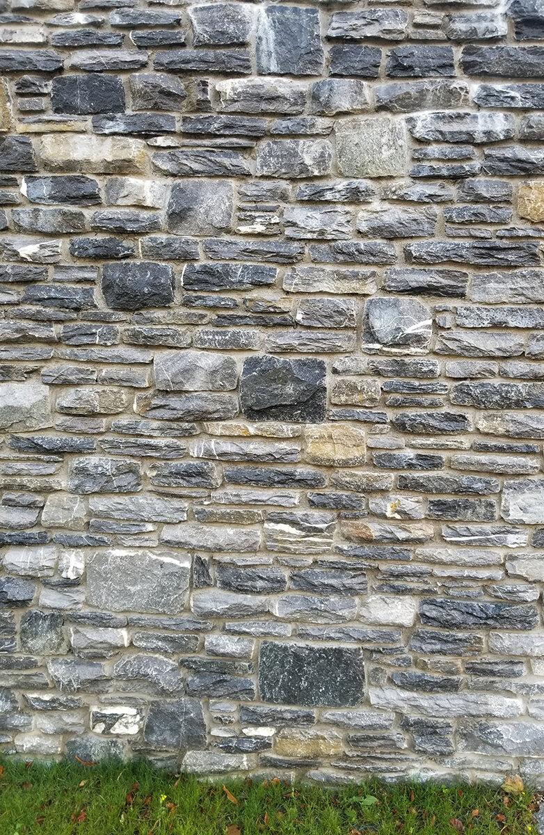 Mortar set wall at  Cahernane House Hotel  in Killarney, Republic of Ireland.