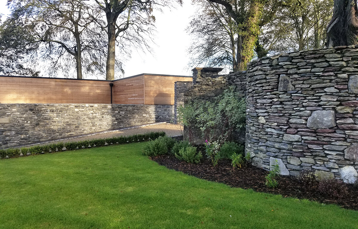 Beautifully detailed walls at Cahernane House Hotel in Killarney, Republic of Ireland.