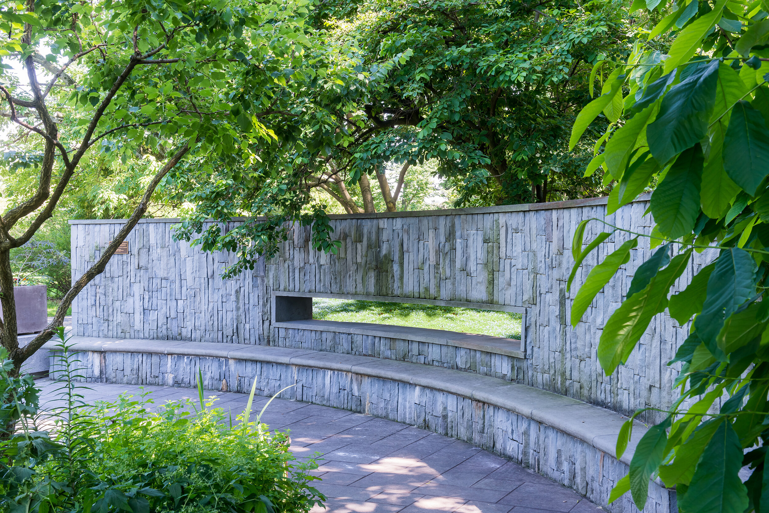 Photo by  Rob Cardillo . Herb and Vegetable Garden at  Brooklyn Botanic Garden , by Land Morphology