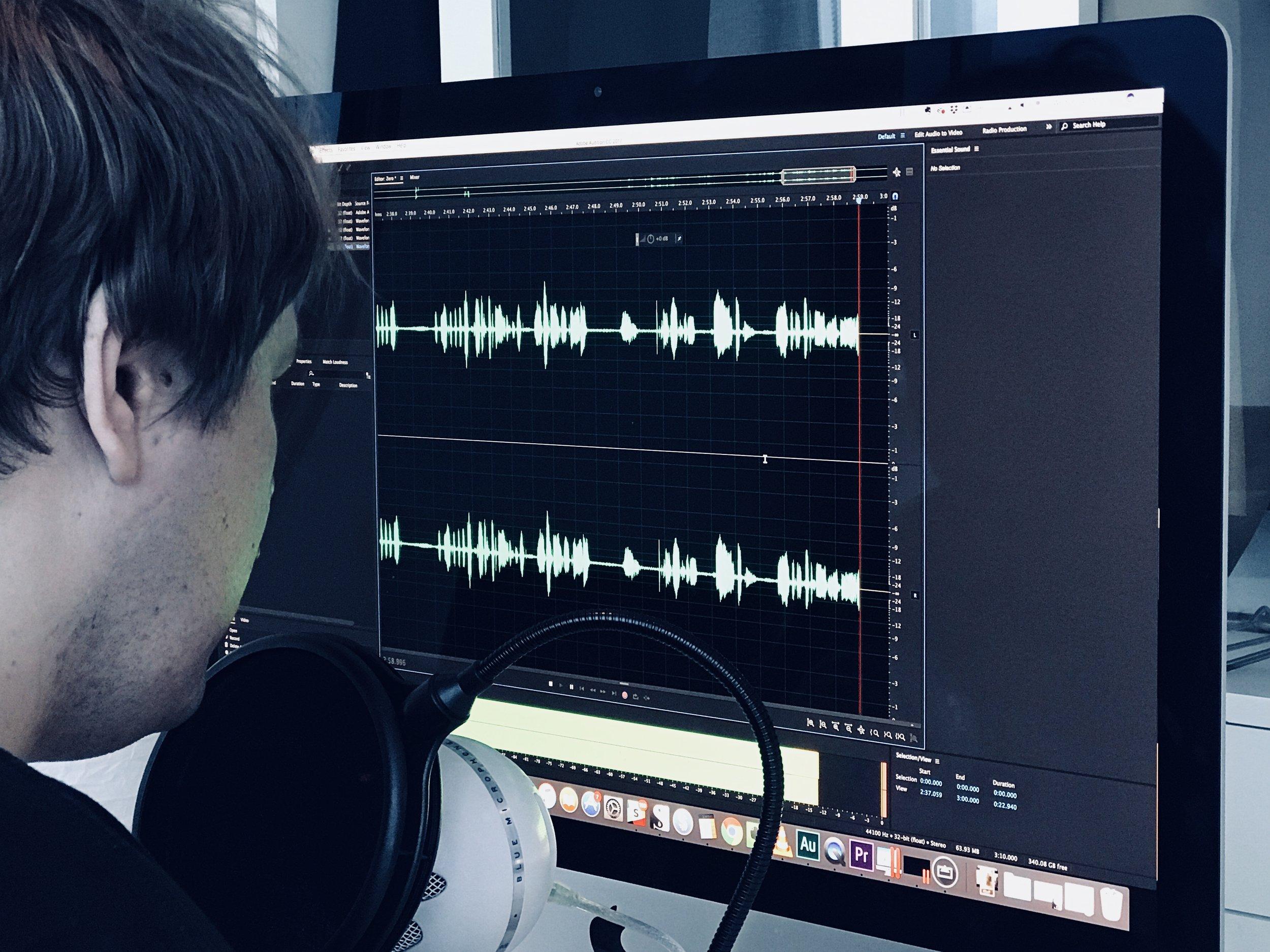 Jordan Creating Podcast.