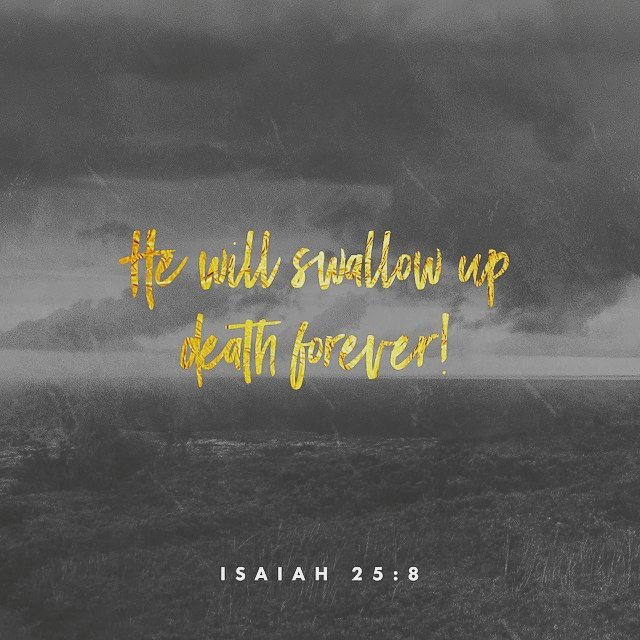 Death could hold him down, He conquered the gave and he will rise again.  The cross gives us eternal life.  Hallelujah