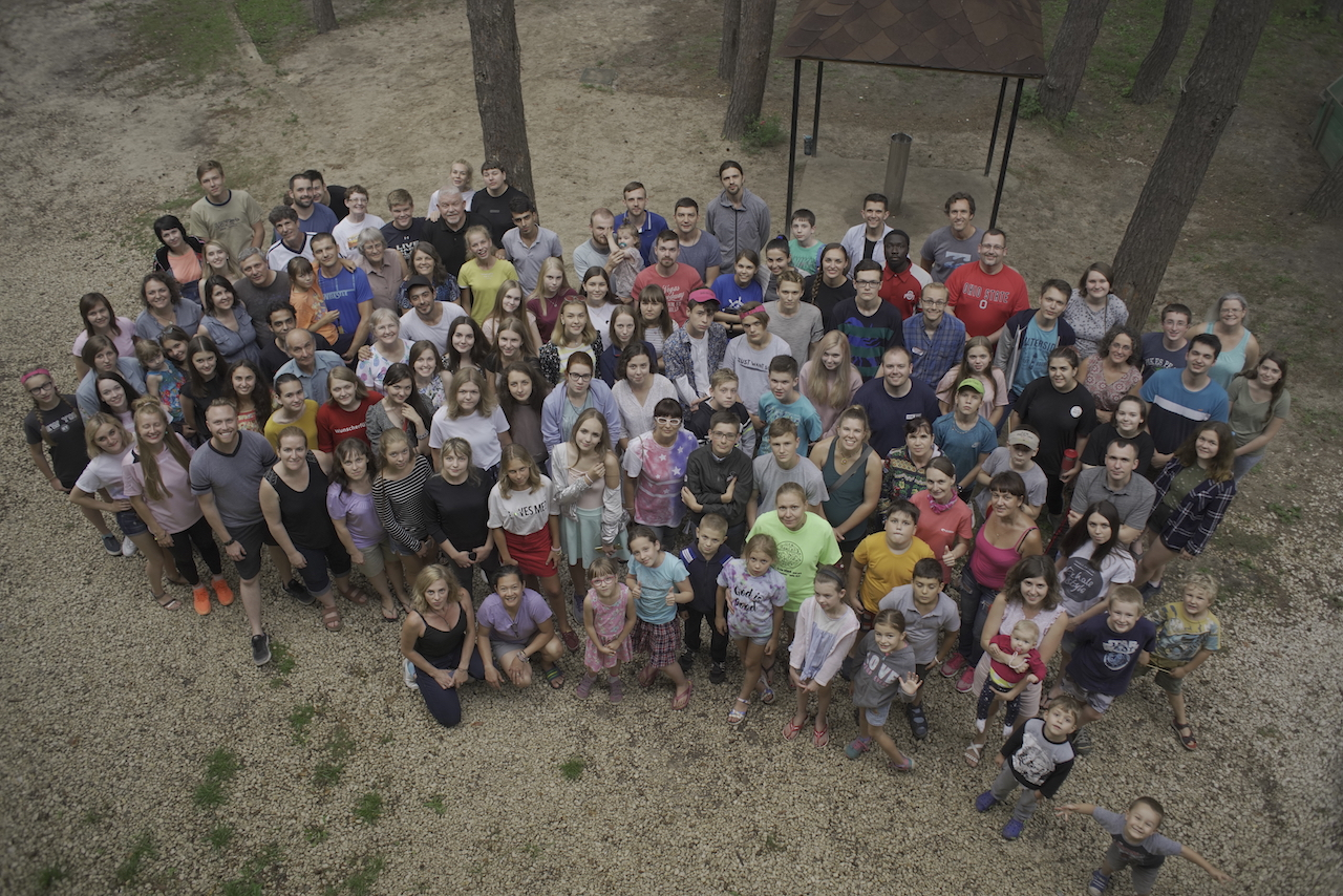 English Camp 2018: students, teachers and camp staff