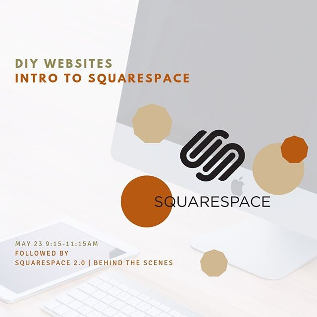 Group Squarespace classes are this Thursday at @workandplaynj.  Intro and a 2.0 version for those with launched sites. Learn more on my site, or reserve your spot directly at @somageneralstore (search me). #diymarketing #squarespacedesigner #diywebsite