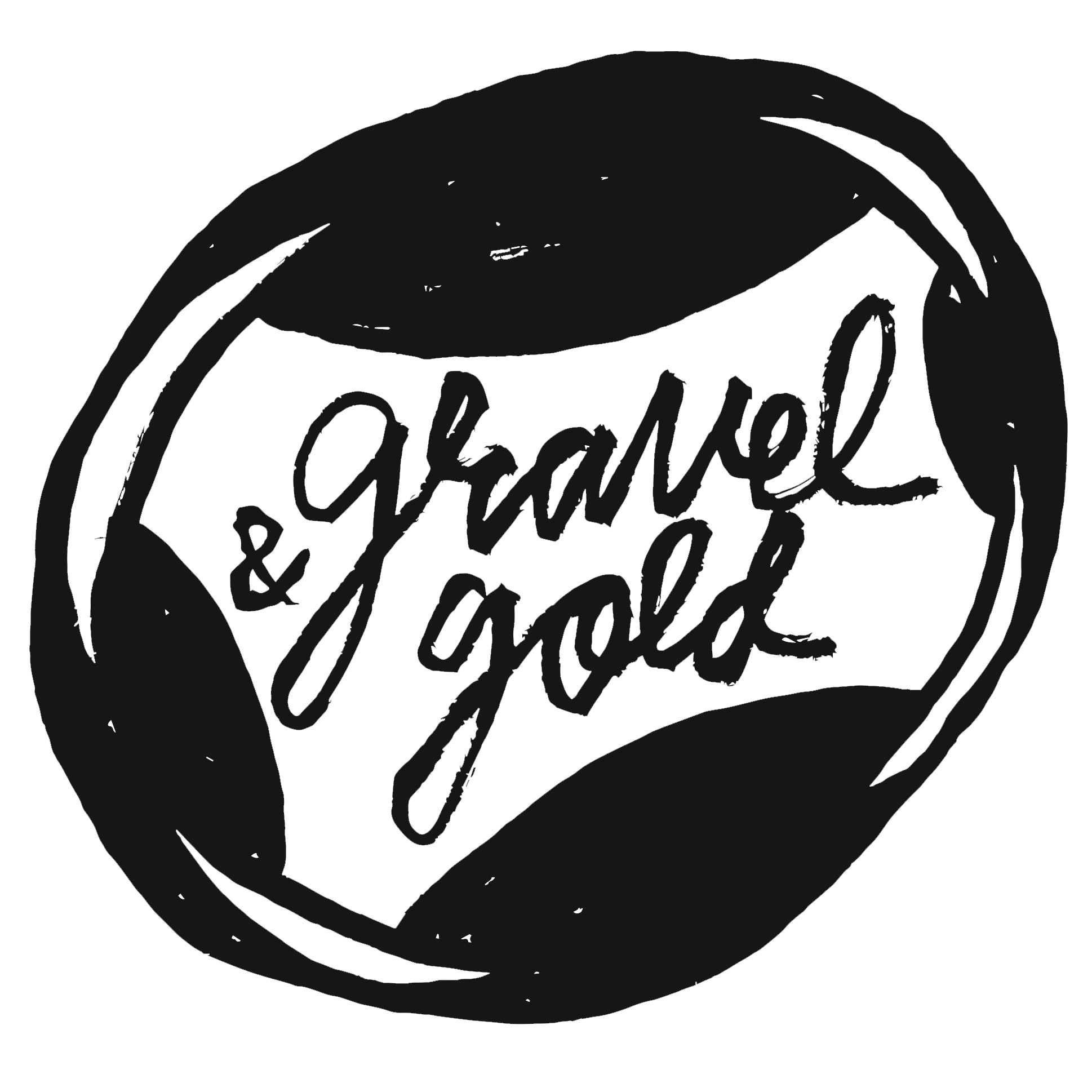 Gravel & Gold Chop Logo