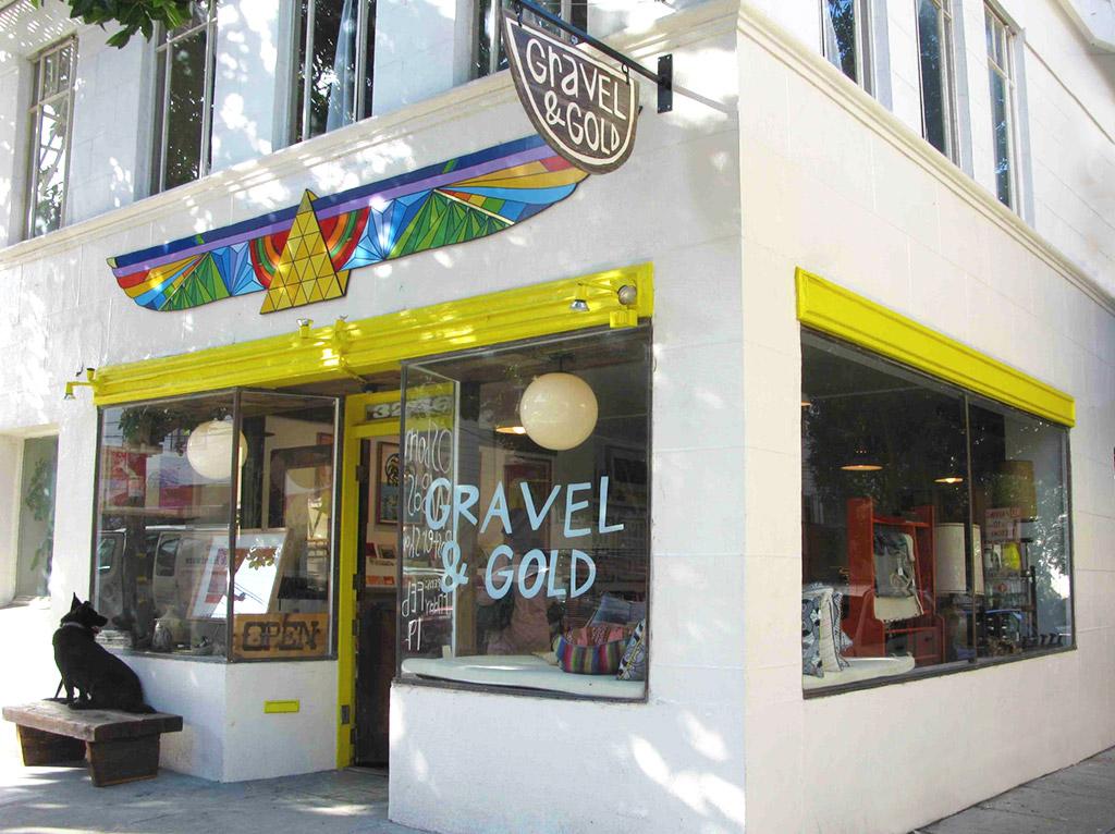 Gravel & Gold exterior