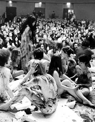 At the New School for Social Research (1970)