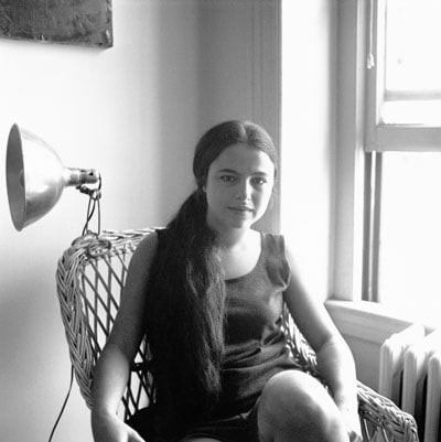 Stephen Korbet, Portrait of Eva Hesse  (c.1959)