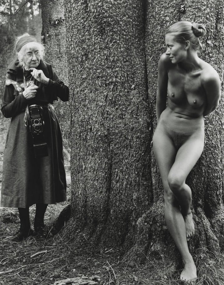 Judy Dater  ,   Imogen and Twinka  , 1974