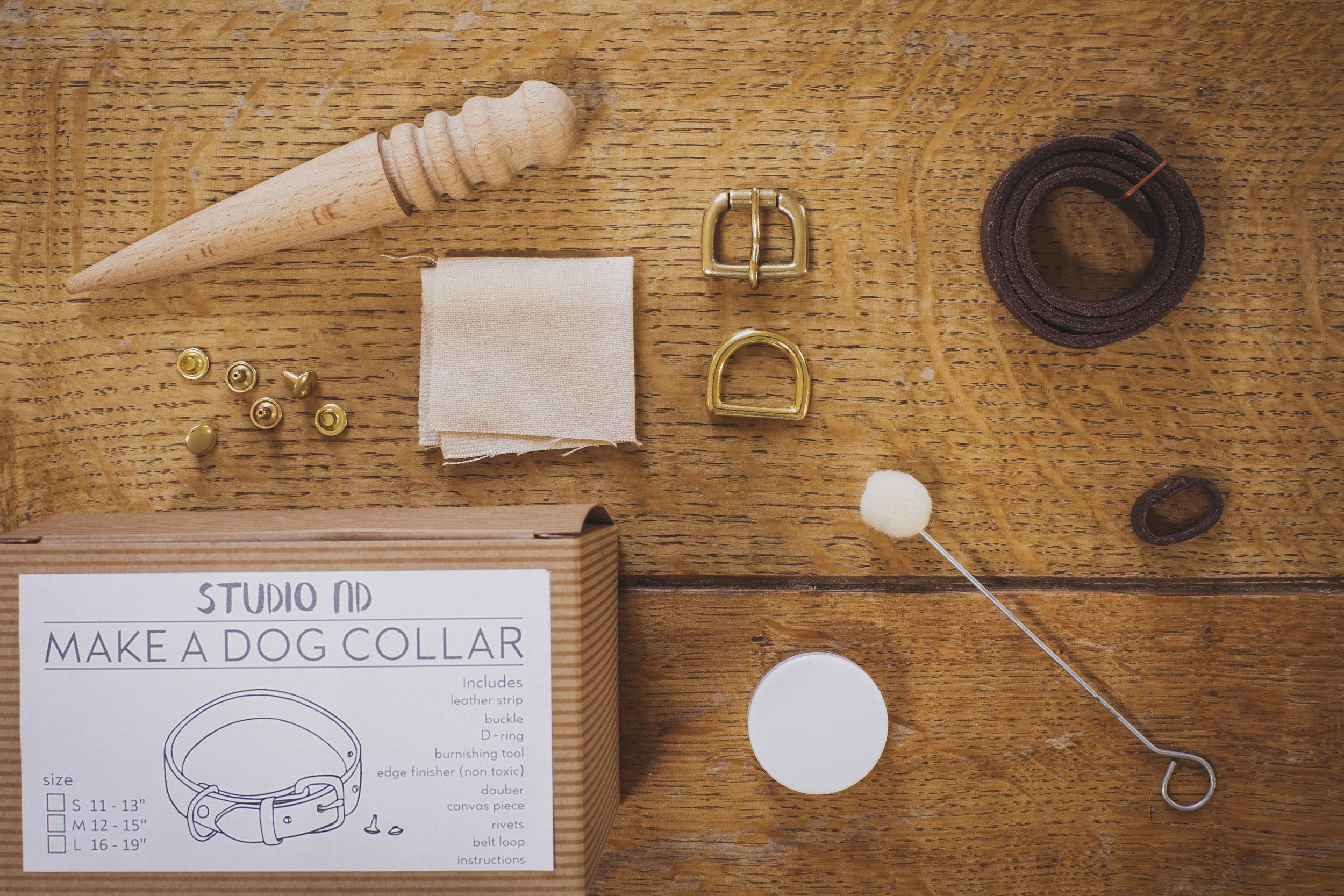 Make a Dog Collar Kit Instructions -
