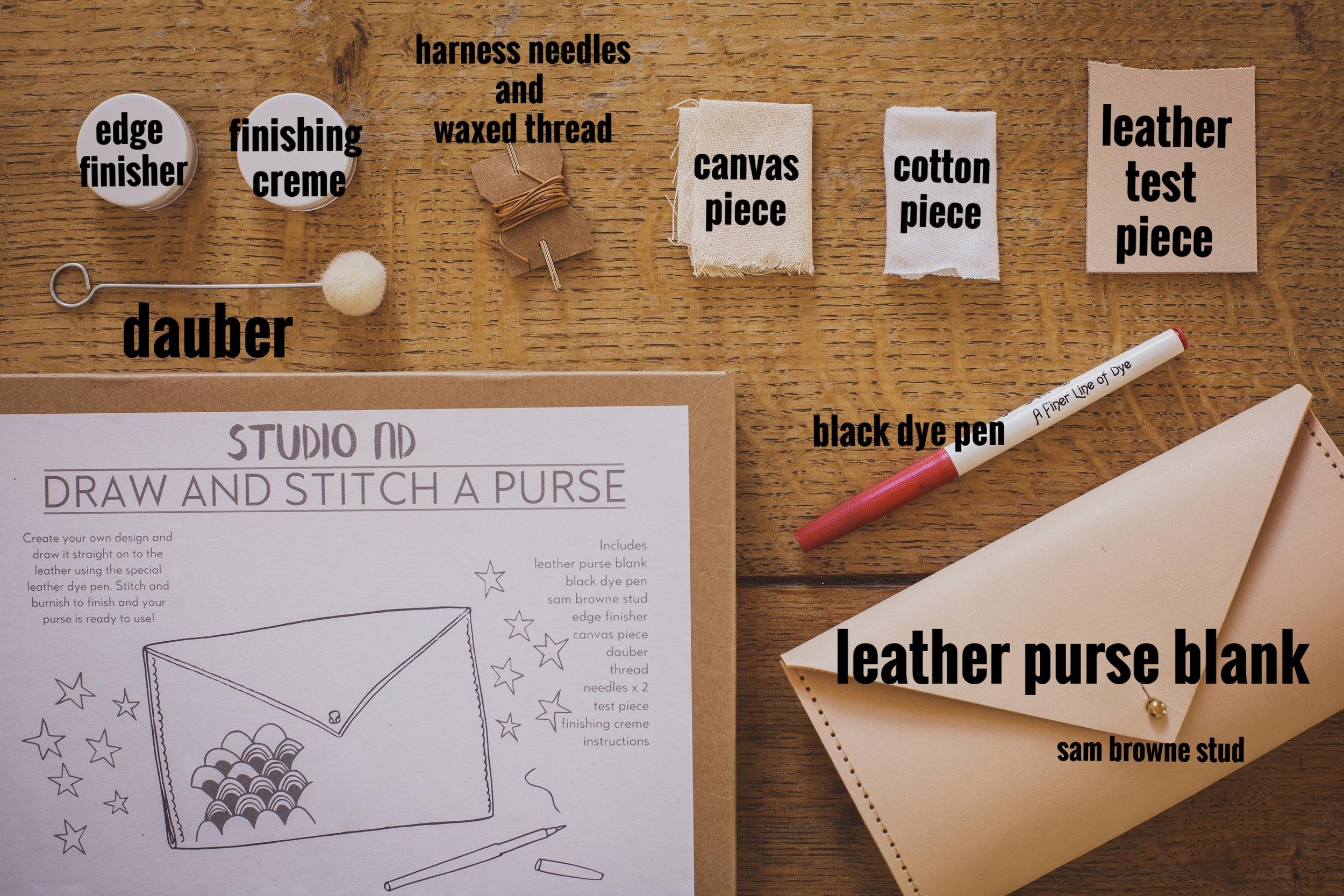 purse making kit