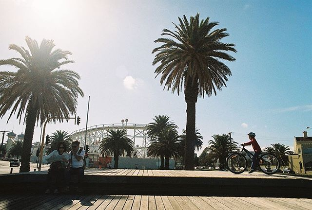 St Kilda, Melbourne by @kurteckardt. #35mm #film #analog #filmphotography #mixedbusinesscollective