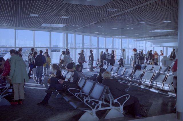 Airport  #35mm #film #photography #street #analoguephotography #kurteckardt #airport