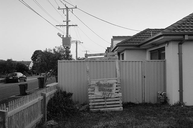 Jungle Juice Hut  #35mm #film #blackandwhite #preston #melbourne #ilford