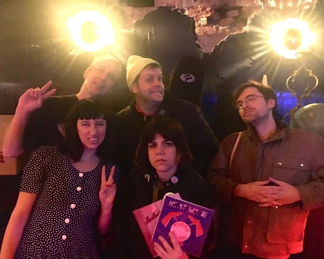 Thanks so much to Screaming Females, Bone Soup and Globe Alley for having us last night, what a fun show!! And Plaster of Paris and Glomesh for being so amazing.  Our next show is another big one, watch this space for the announcement. 👀