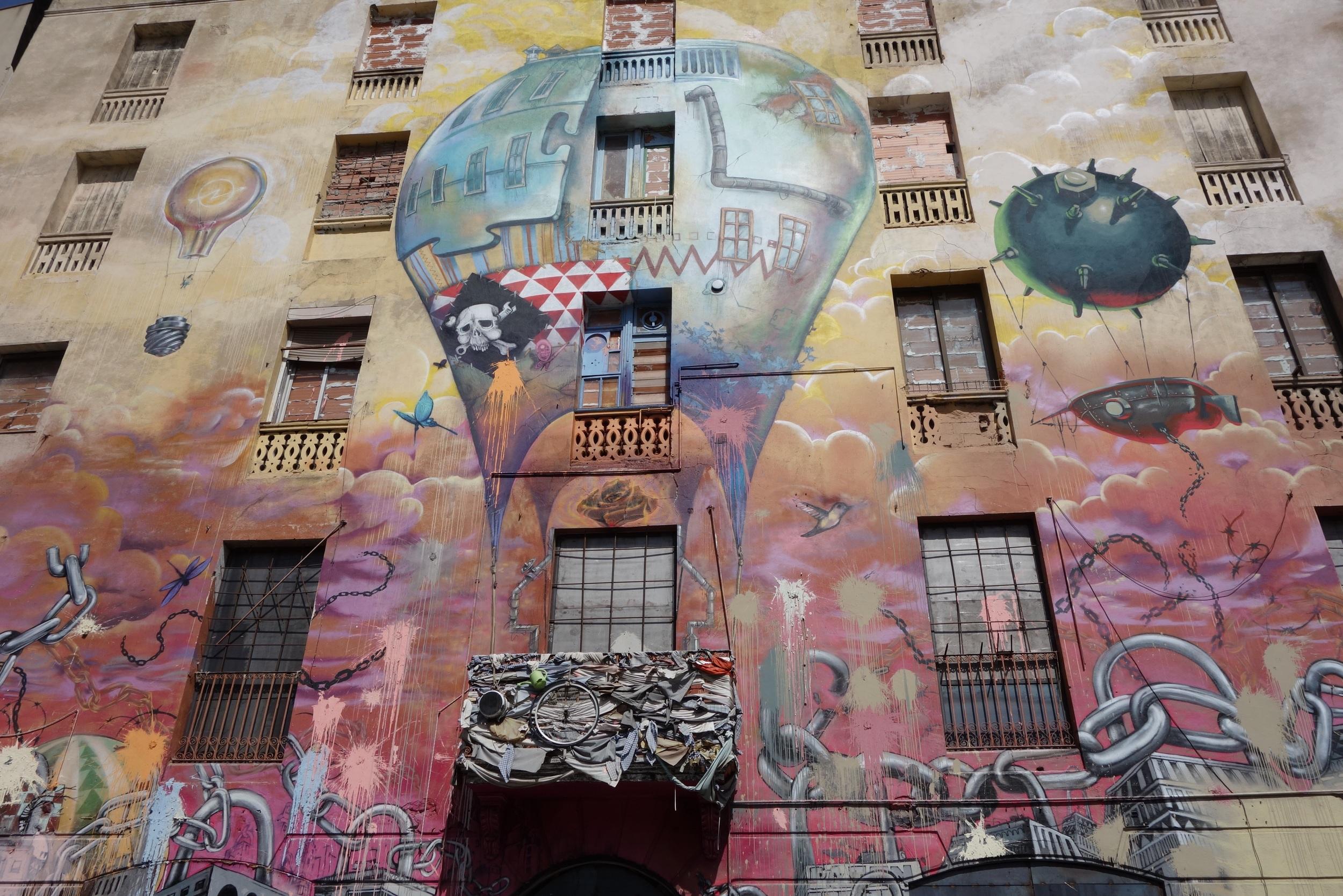 Så fantastisk masse vakker streetart i dinna byen!