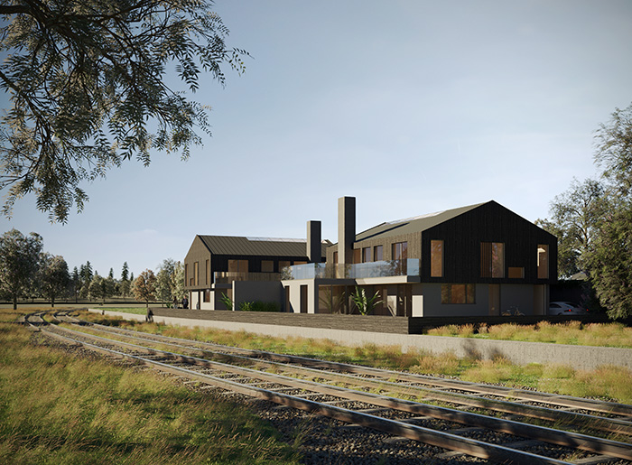 THE STATION HOUSES