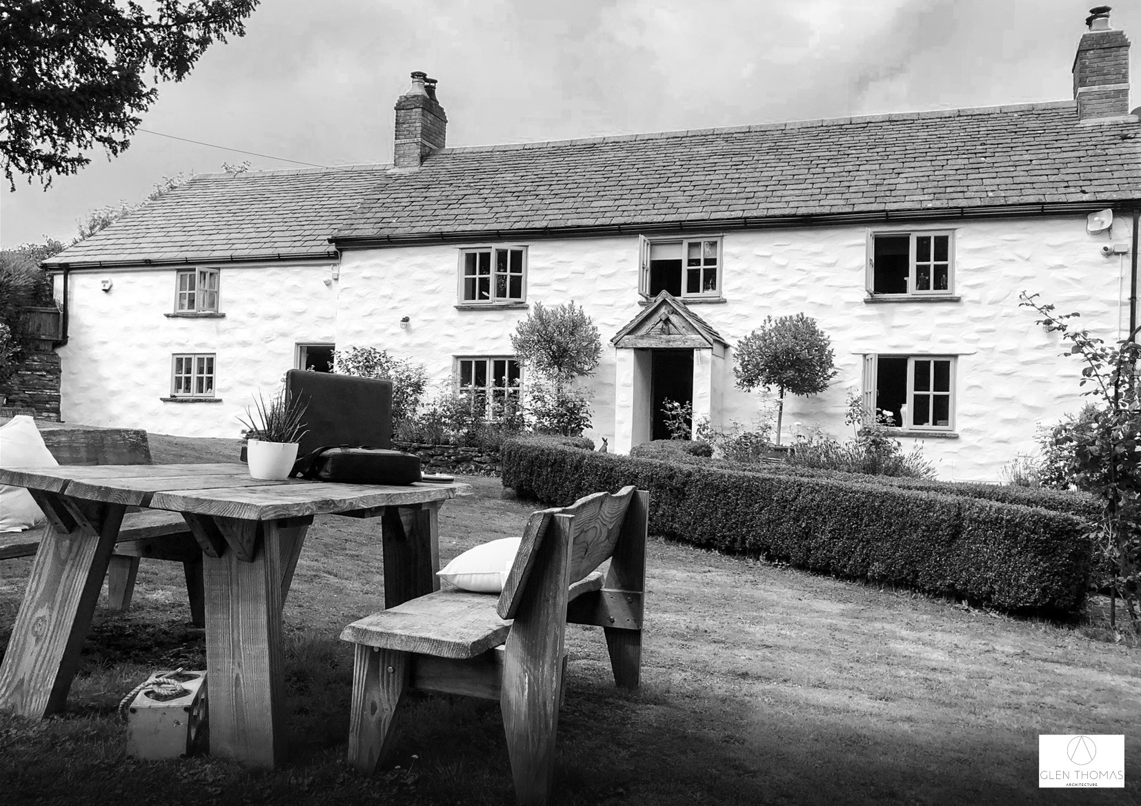 Existing 18th Century stone cottage