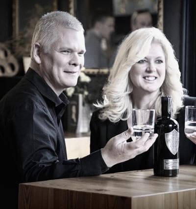 Matt and Steph Brown of Wild Knight Distillery