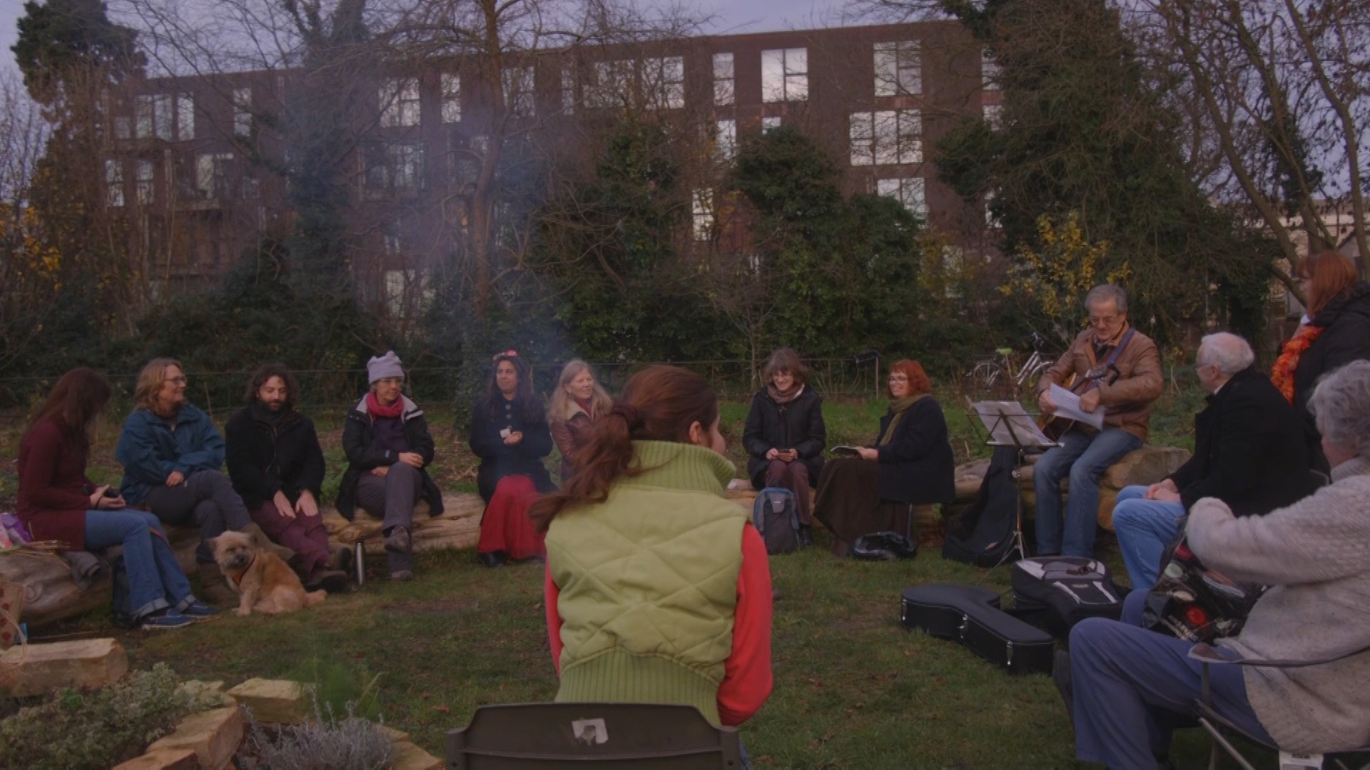 Garden Party at Empty Common, 2015