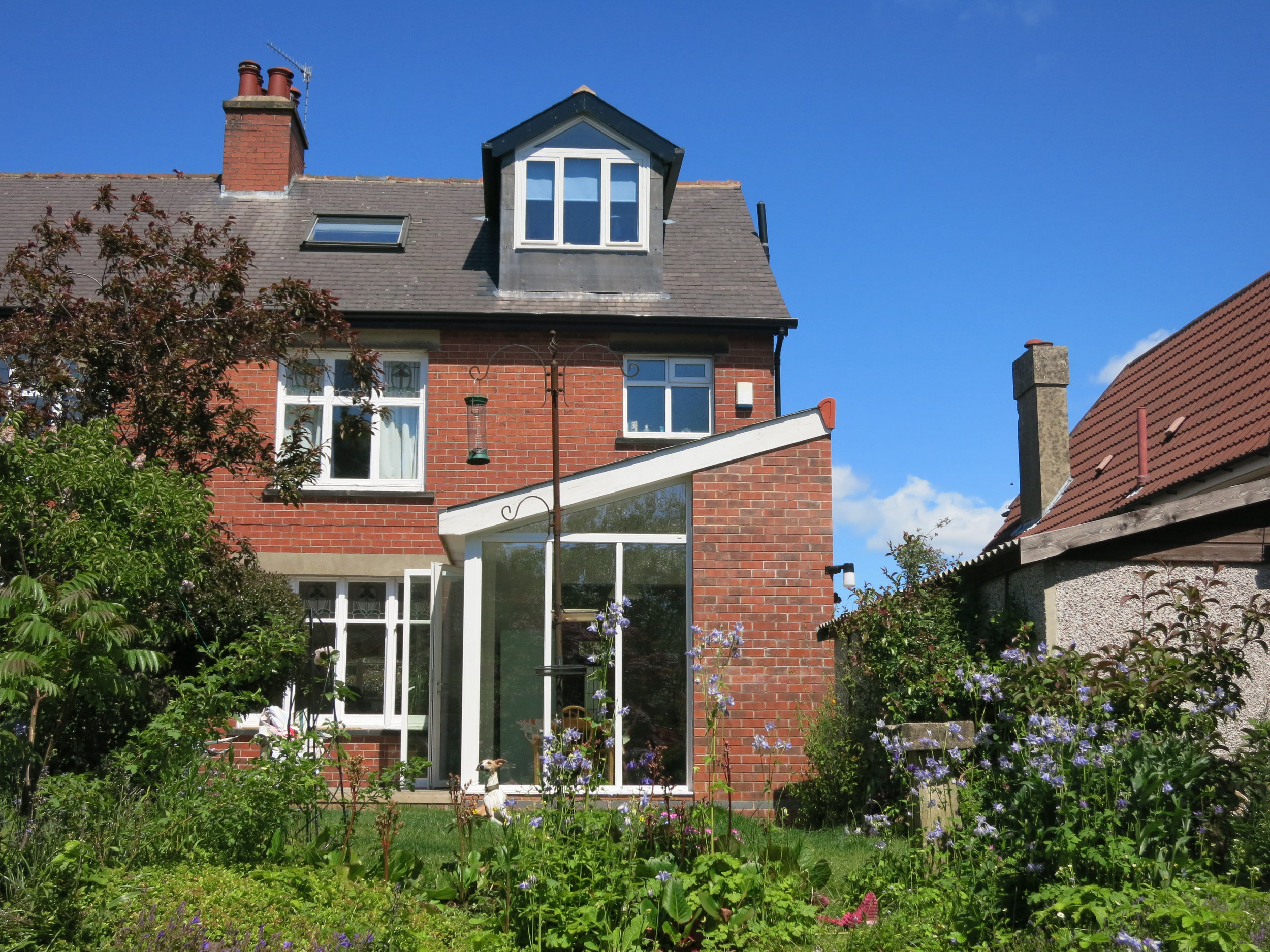 House Extension, Reservoir Road by Sheffield Architect Stephen Hill