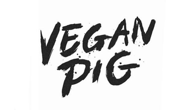"I did this logo for @veganpiguk - ""the worlds first vegan pork scratching"" 🤟🏻"