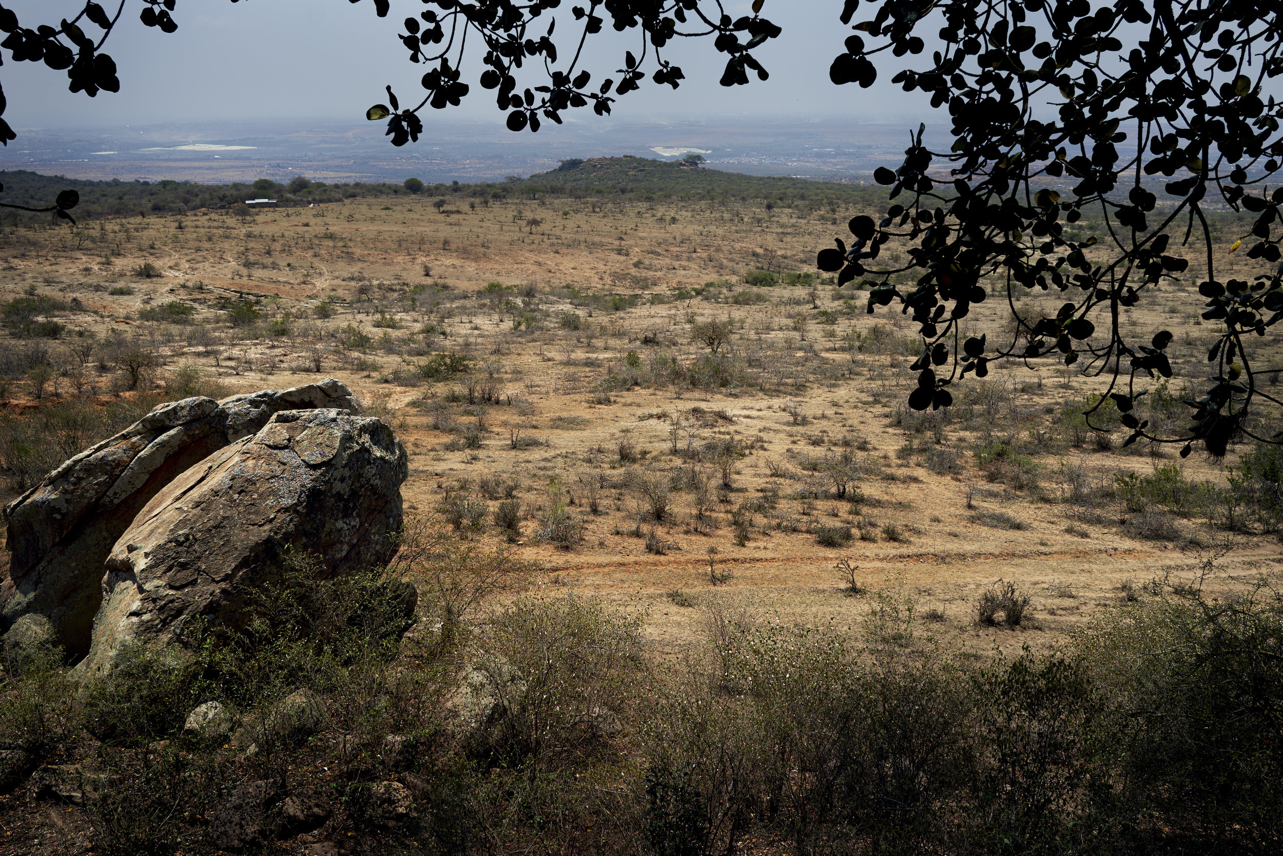 A view over Lukenya, an hour or so outside of Nairobi. I come here a lot to unwind from the chaos of the city.
