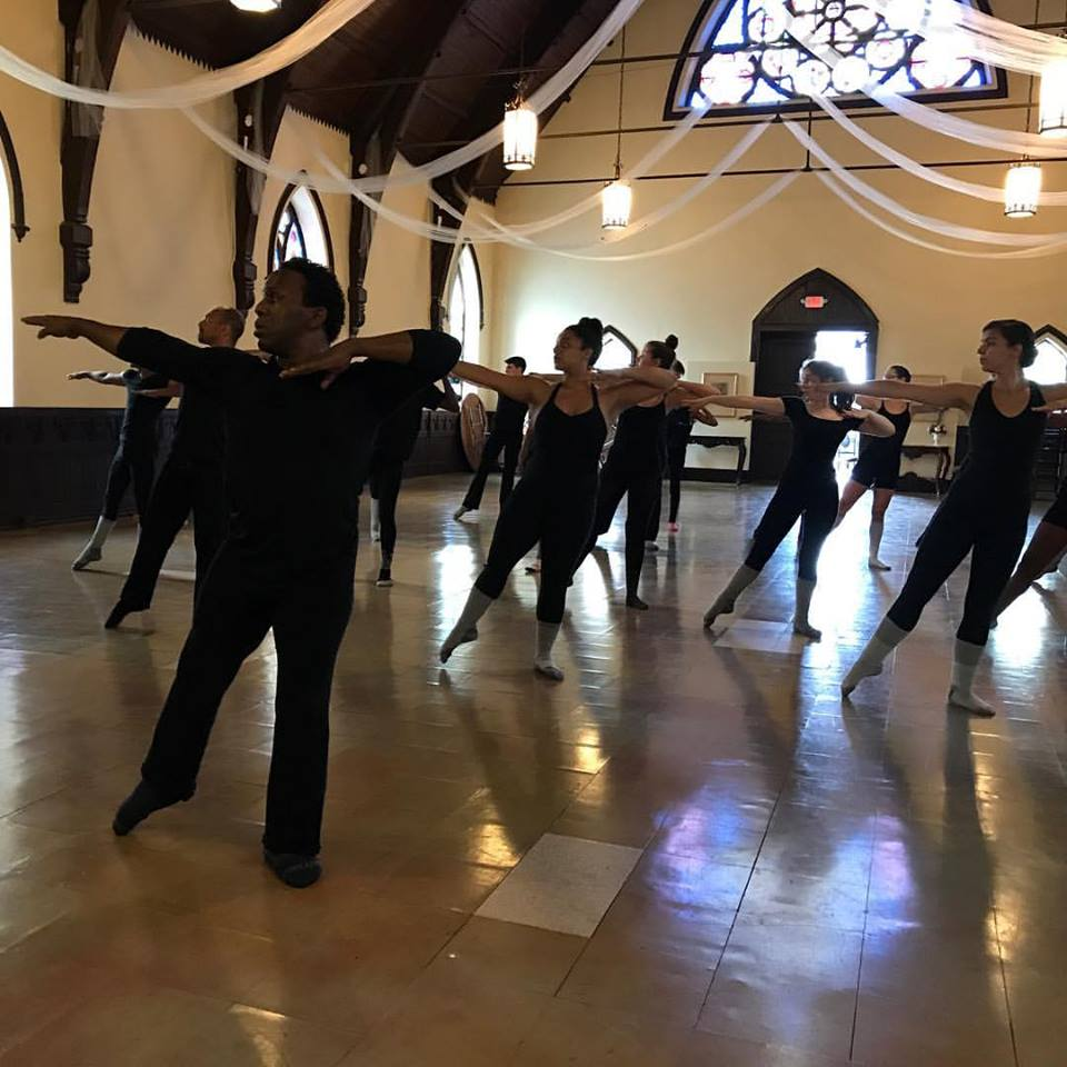 NYDF Producer, Sean McLeod, teaching McLeod Technique® at the 26th New York Dance Festival