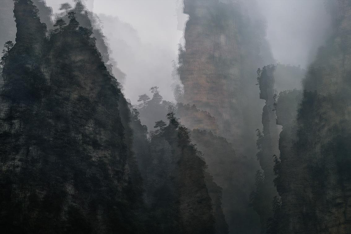 © Eric Bourret - walk - Landscape 14 - Zhangjiajie, Chine 2018 - ref 7562.jpg