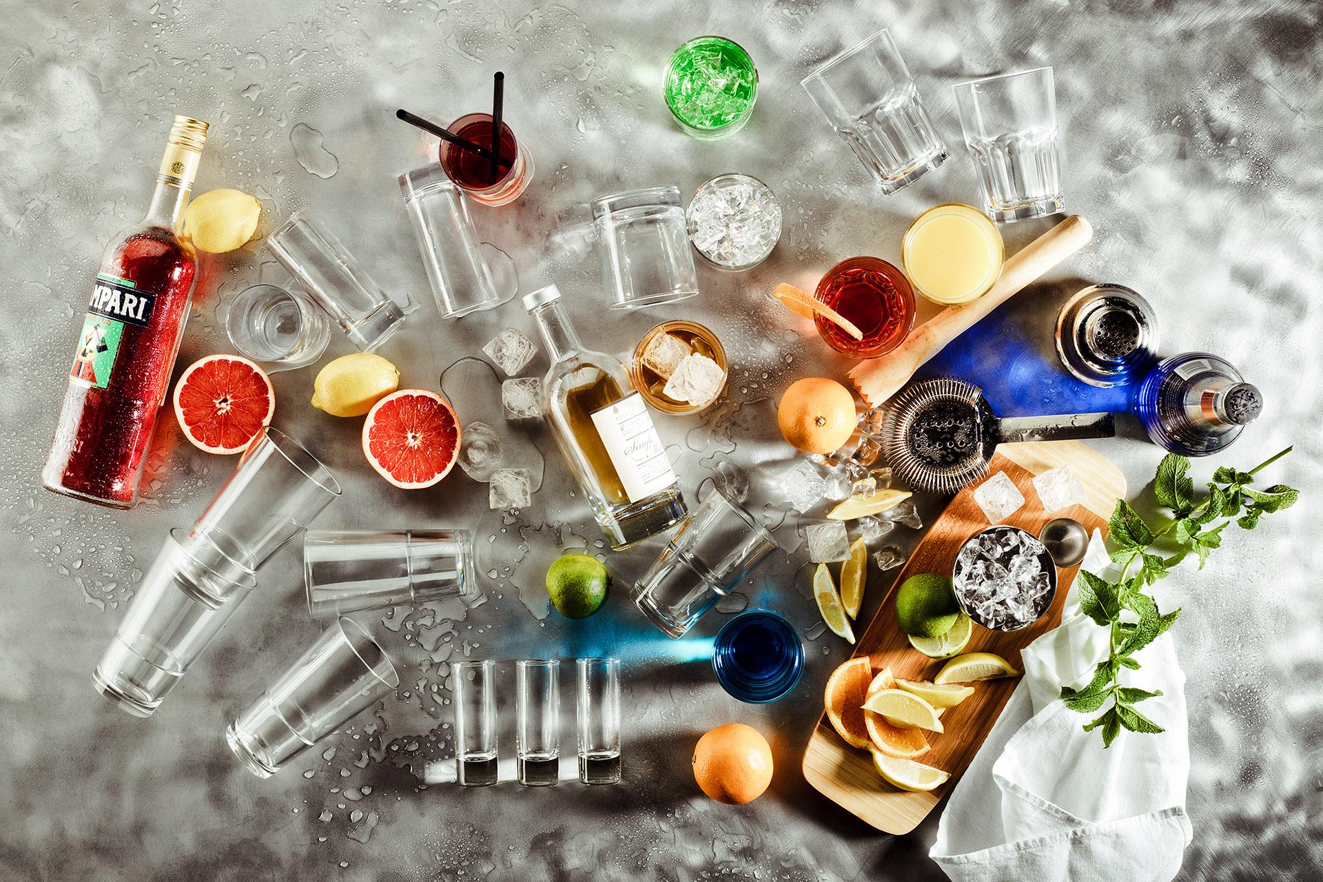 Cocktails & Drinks, fotografiert im Studio für Foodfotografie - Fotowerk Lampelmayer