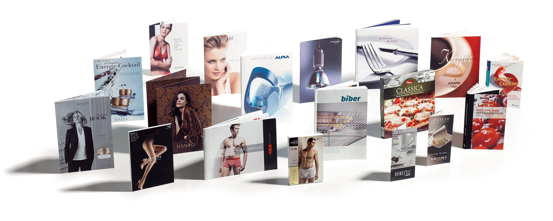 Fotowerk Referenzen: Kataloge, Verpackungen